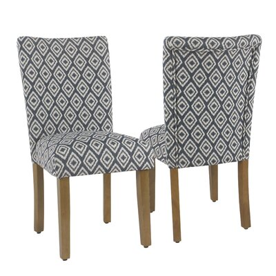 Nariani Upholstered Dining Chair Upholstery Color: Indigo