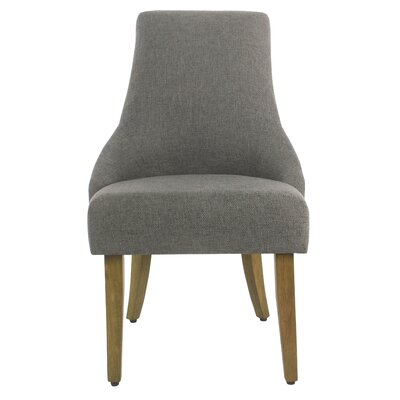 Finkelstein Upholstered Dining Chair Upholstery Color: Charcoal