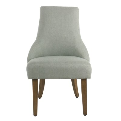 Finkelstein Upholstered Dining Chair Upholstery Color: Aqua