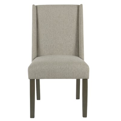 Bowers Upholstered Dining Chair Upholstery Color: Silver