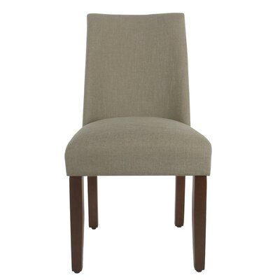 Barnabas Upholstered Dining Chair Upholstery Color: Tan