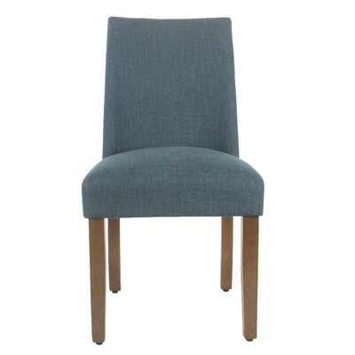 Barnabas Upholstered Dining Chair Upholstery Color: Teal