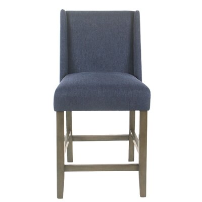 Racine Modern 26 Bar Stool Color: Blue