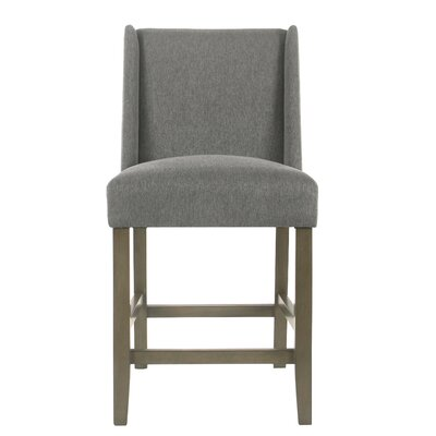 Racine Modern 26 Bar Stool Color: Pewter
