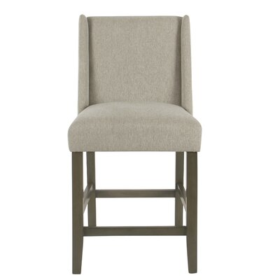 Racine Modern 26 Bar Stool Color: Silver