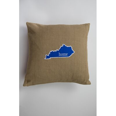 Evergreen Kentucky Cotton Pillow Cover
