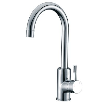 Single Handle Single Hole Kitchen Faucet Finish: Polished Chrome