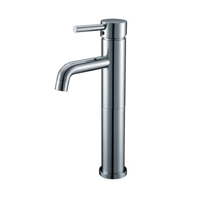 Single Handle Single Hole Bathroom Faucet Optional Accessories: Without Pop-Up Drain, Finish: Polished Chrome