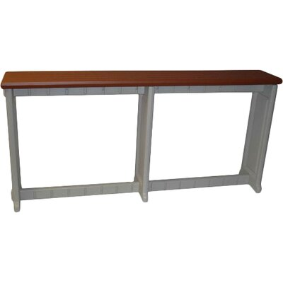 Spa / Patio Home Bar Finish: Redwood