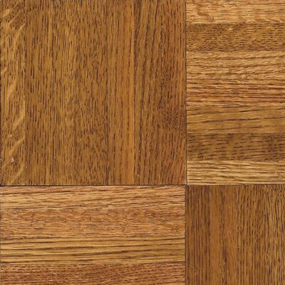 Urethane Parquet 12 Solid Oak Parquet Hardwood Flooring in Honey