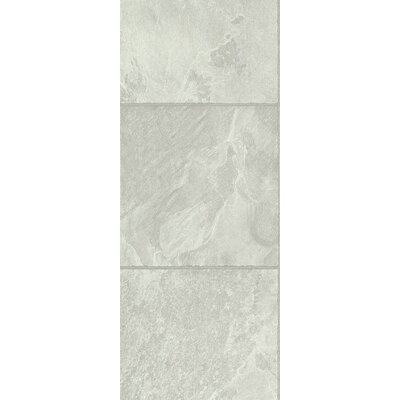 Stones and Ceramics 11.81 x 47.48 x 8.3mm Tile Laminate Flooring in Slate Ivory Sand