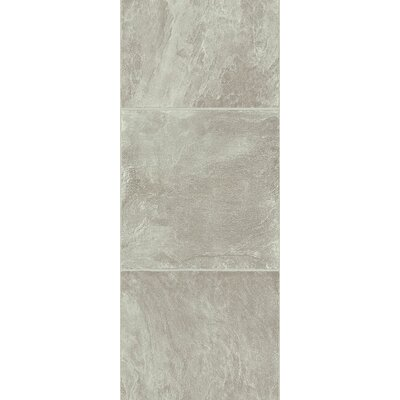 Stones and Ceramics 11.81 x 47.48 x 8.3mm Tile Laminate Flooring in Slate Grey Stone
