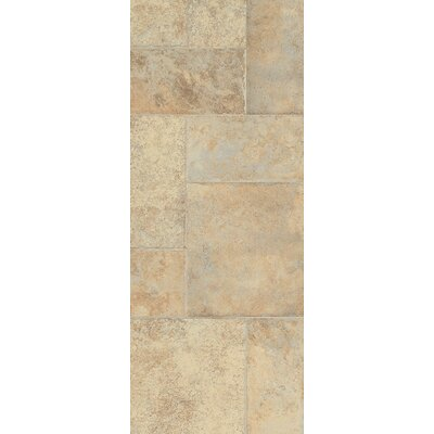 Stones and Ceramics 15.94 x 47.75 x 8.3mm Tile Laminate in Weathered Way Antique Cream
