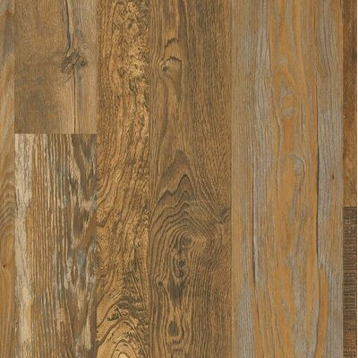Architectural Remnants 7 x 48 x 12mm Oak Laminate Flooring in Old Original