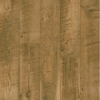 Architectural Remnants 5 x 48 x 12mm Oak Laminate Flooring in Oak Natural