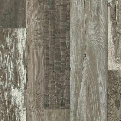 Architectural Remnants 8 x 48 x 12mm Oak Laminate in Old Original Barn Gray