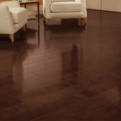 Metro Classics 5 Engineered Maple Hardwood Flooring in Cocoa Brown