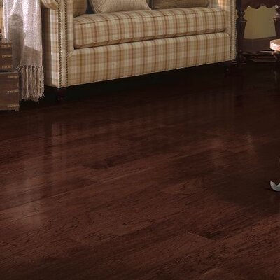 Metro Classics 5 Engineered Pecan Hardwood Flooring in Molasses