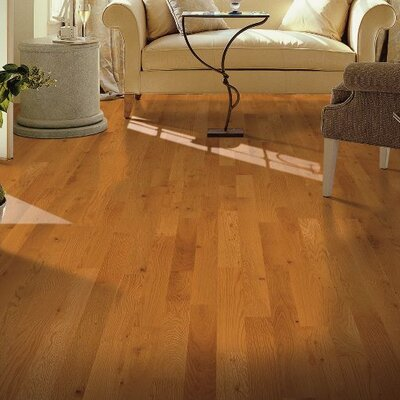 Yorkshire 3-1/4 Solid Red Oak Hardwood Flooring in Natural