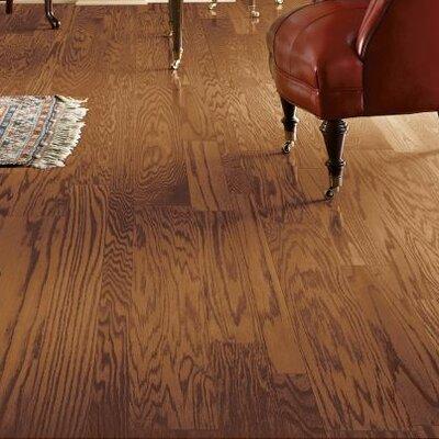 Fifth Avenue Plank 5 Engineered Red Oak Hardwood Flooring in Sable