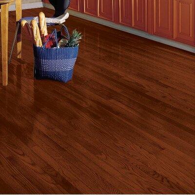 Yorkshire 2-1/4 Solid White Oak Hardwood Flooring in Cherry Spice