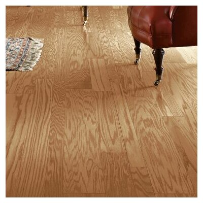 Fifth Avenue Plank 5 Engineered Red Oak Hardwood Flooring in Chablis