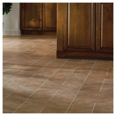 Castilian Block 16 x 48 x 8.3mm Tile Laminate in Puesta del Sol