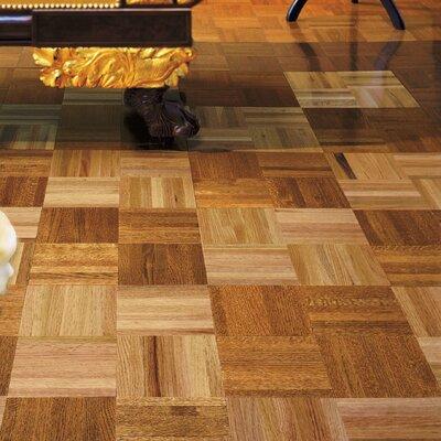 Urethane Parquet 12 Solid Oak Parquet Hardwood Flooring in Standard