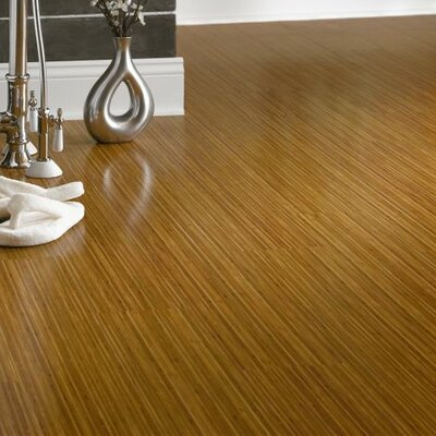 Luxe Empire Bamboo 6 x 48 x 3.56mm Luxury Vinyl Plank in Caramel