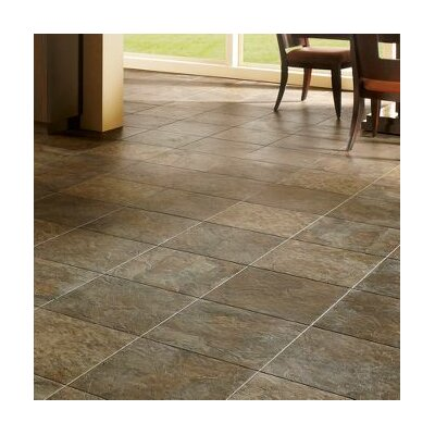 Alterna Reserve 16 x 16 Engineered Stone Field Tile in Brown