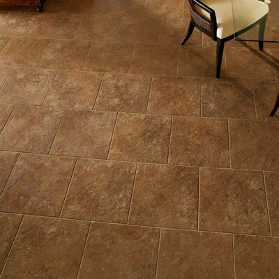 Alterna 16 x 16 Engineered Stone Field Tile in Terracotta