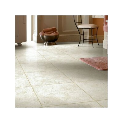 Alterna 16 x 16 Engineered Stone Field Tile in Cr�me Fresh
