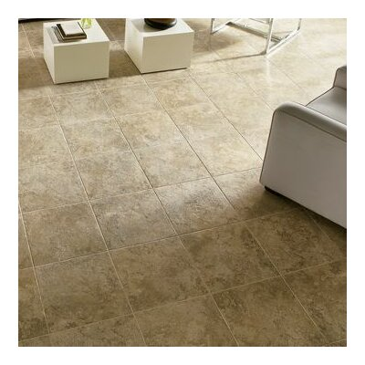 Alterna 16 x 16 Engineered Stone Field Tile in Antique Gold