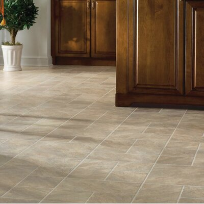 Castilian Block 16 x 48 x 8mm Tile Laminate in Rambla