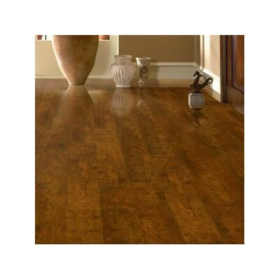 Premium Lustre 5 x 48 x 12mm Cherry Laminate Flooring in Candied