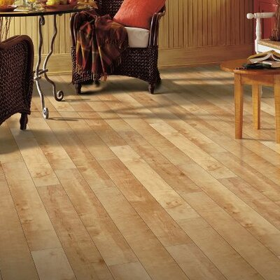 Exotics 16 x 48 x 8mm Maple Laminate Flooring in Tiger