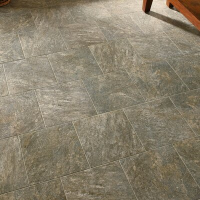 Alterna Reserve 16 x 16 Engineered Stone Field Tile in Gray