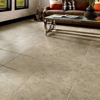 Alterna 16 x 16 Engineered Stone Field Tile in Taupe/Gray