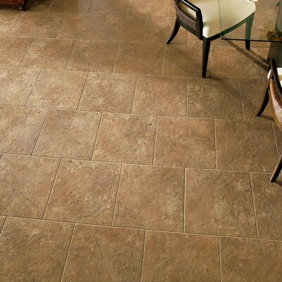 Alterna 16 x 16 Engineered Stone Field Tile in Inca Gold