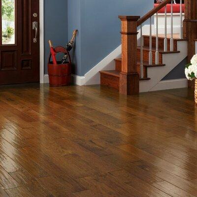 American 5 Engineered Hickory Hardwood Flooring in Autumn Blaze