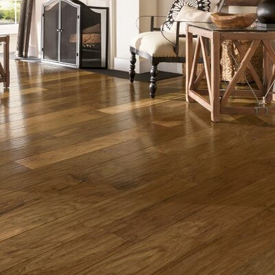 American 5-3/4 Engineered Walnut Hardwood Flooring in Natural