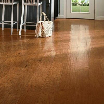 American 5-3/4 Engineered Cherry Hardwood Flooring in Forest Color