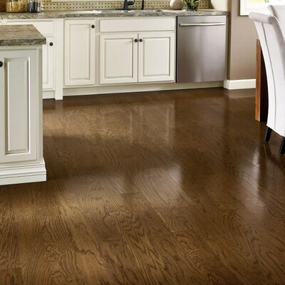 Prime Harvest 5 Solid Oak Hardwood Flooring in Forest Brown