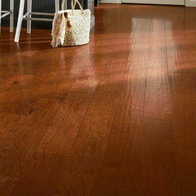 American 5-3/4 Engineered Cherry Hardwood Flooring in Autumn Apple