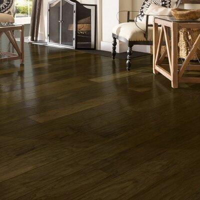 American 5-3/4 Engineered Walnut Hardwood Flooring in Dark of Midnight