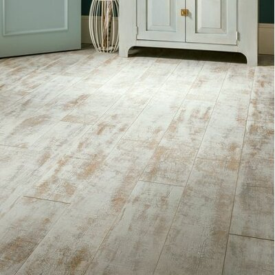 Architectural Remnants 7.59 x 47.83 x 12mm Oak Laminate Flooring in Milk