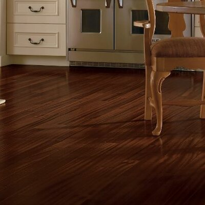 Global Exotics 3-1/2 Engineered Exotic Hardwood Flooring in African Mahogany Exotic Shadow