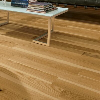 Midtown 5 Engineered Oak Hardwood Flooring in Natural White