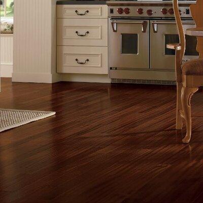 Global Exotics 3-1/2 Engineered Exotic Hardwood Flooring in African Mahogany Burnished Sable