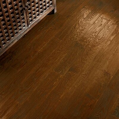 American 5 Solid Oak Hardwood Flooring in Wild West